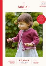 Sirdar Snuggly Baby Cashmere Merino DK Knitting Pattern Booklet - 5248 Cardigans